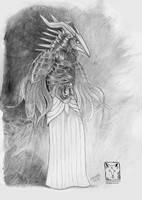 Raven by dragonladych