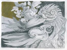 Bird Beastie by dragonladych