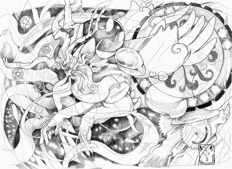 God of Light by dragonladych