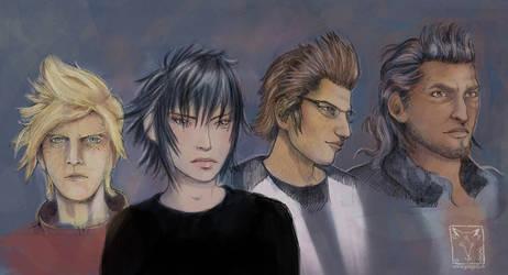 Final Fantasy XV fanart