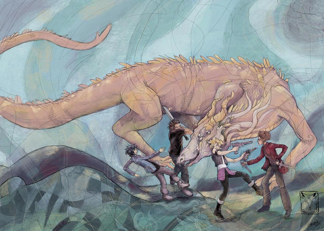 Final Fantasy Redux by dragonladych