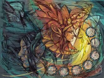 Chaos by dragonladych by dragonladych