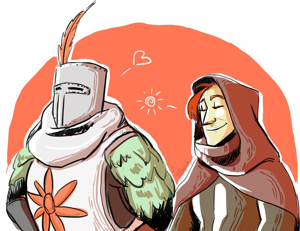 Dark Souls: love the sun by dospeh