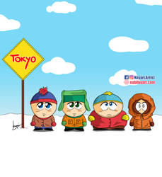 South Park is traveling in Japan!