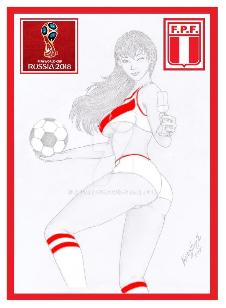Peru in FIFA World Cup Russia 2018 by kueztionx