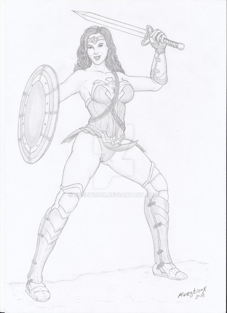 Wonder Woman by kueztionx