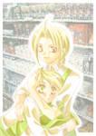 Ed and Al at convenient store