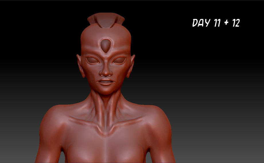 Zbrush Day 11 + 12 by dinosimplicissimus