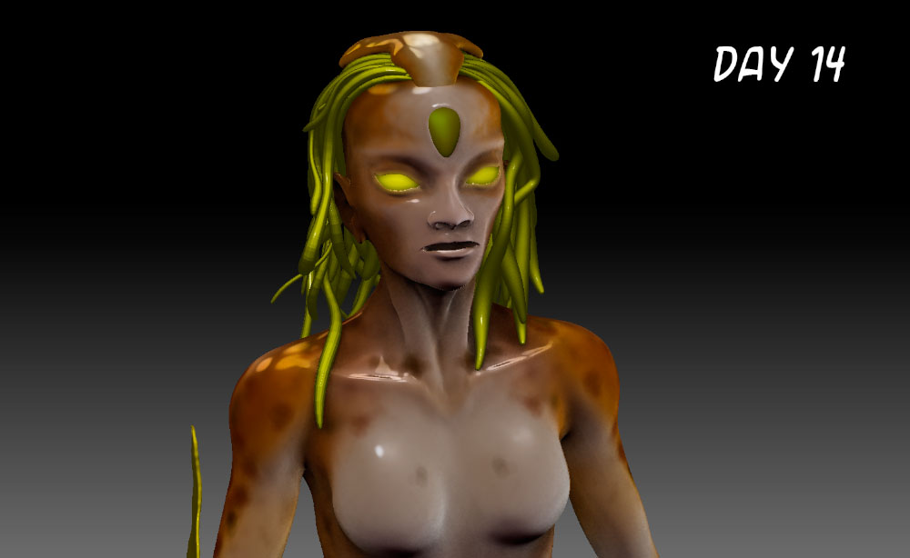 Zbrush Day 14 by dinosimplicissimus
