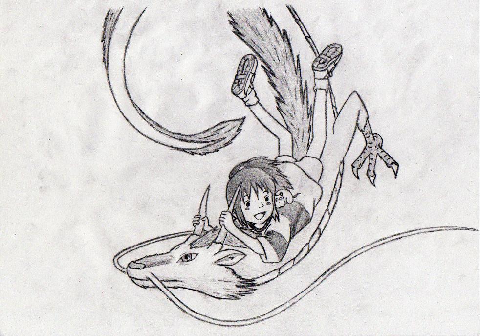 spirited away drawing by tomo1gym on deviantart