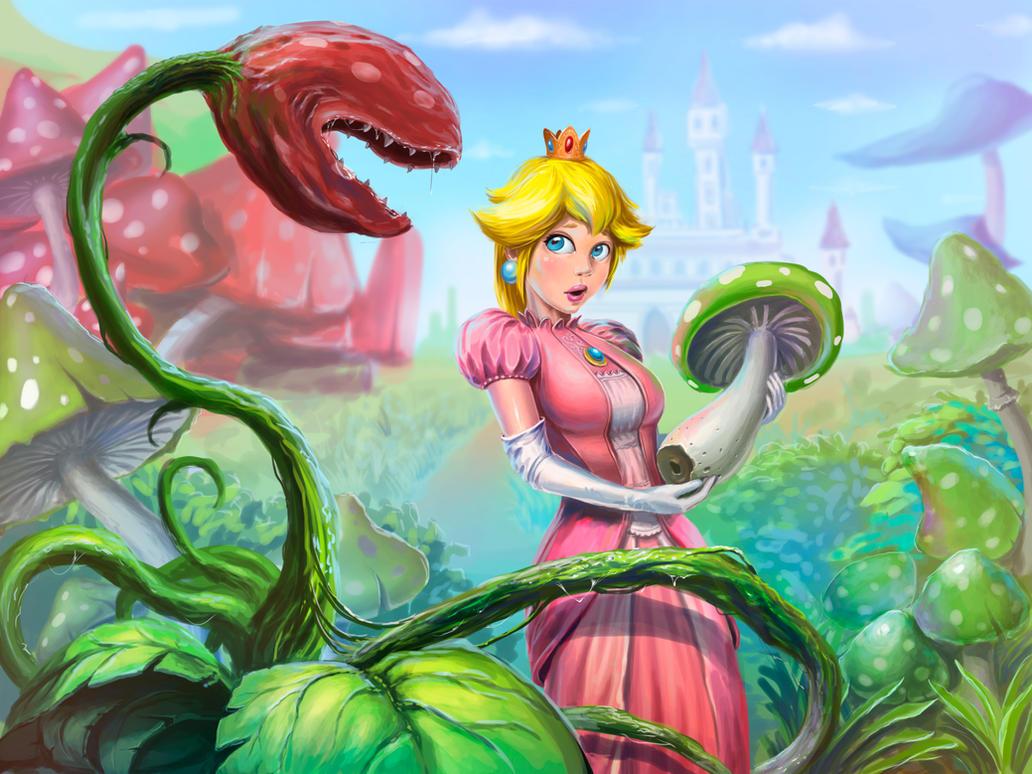 Mushroom hunting by scerg