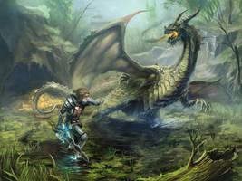 Gothic: Swamp Dragon by scerg