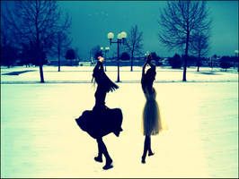 bxw dancing on the snow by Reyrey33