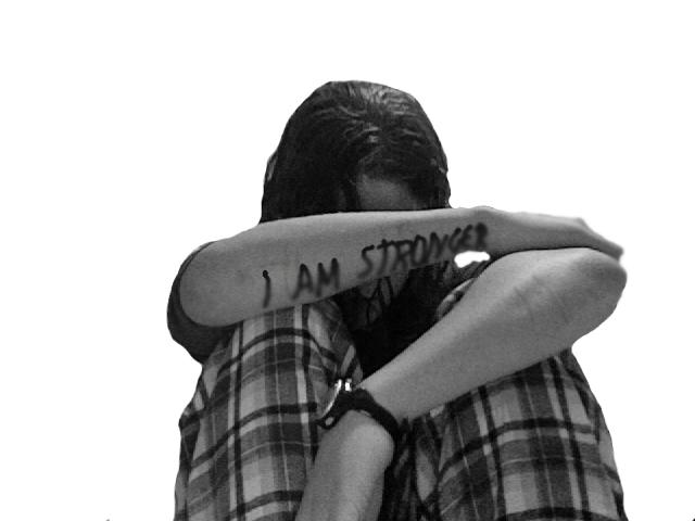 I Am Stronger: Teen Depression by HopelessLavender