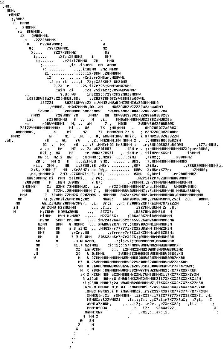 ASCII Art by Shadow2143 on DeviantArt