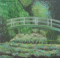 Monet, Japanese bridge_copy