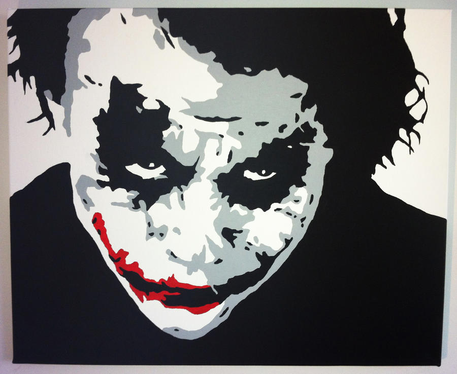 Why so Serious? by roblepitch on DeviantArt