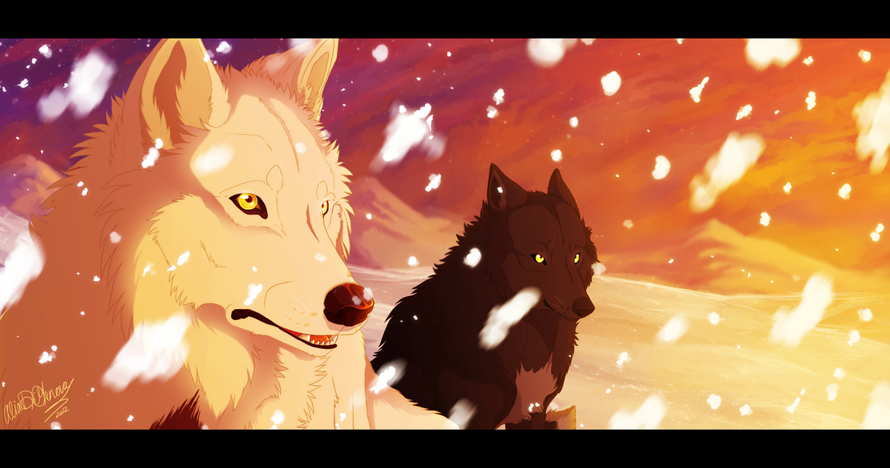 A beautiful sight - Thewolfguy5 Commission by Kairi292
