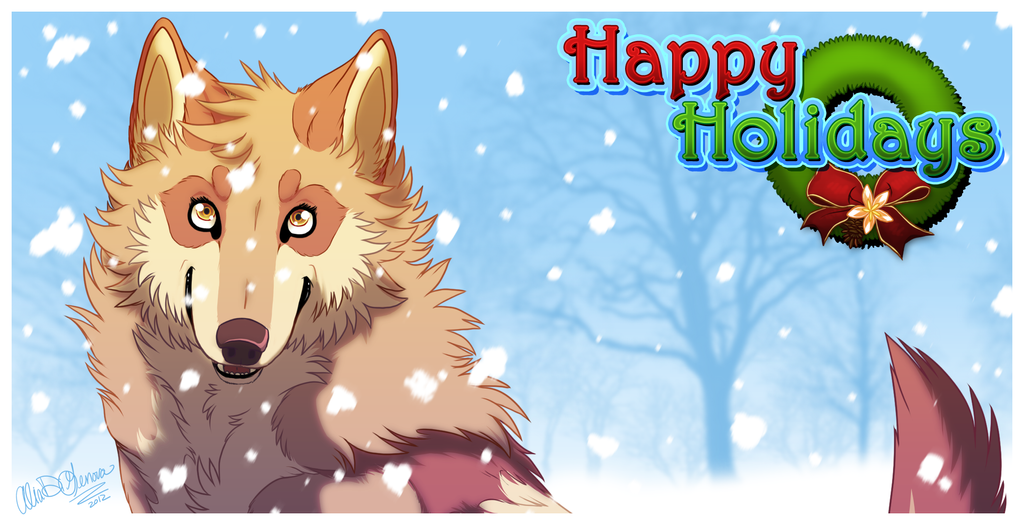 Happy Holidays! by Kairi292