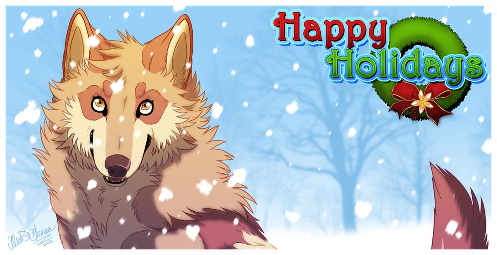 Happy Holidays! by Kairi292