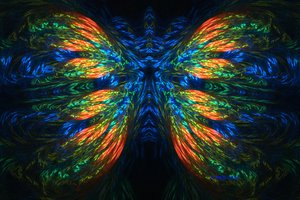 Magic Butterfly by PsychedelicTreasures