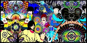 Yellow Submarine by PsychedelicTreasures