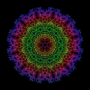 Delic mandala by PsychedelicTreasures