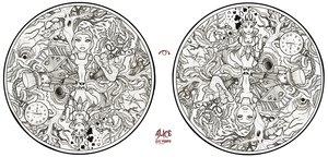 alice in wonderland by PsychedelicTreasures