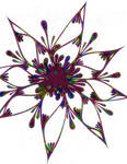 Star Flower by PsychedelicTreasures
