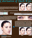 Realistic Coloring_Dark eyes