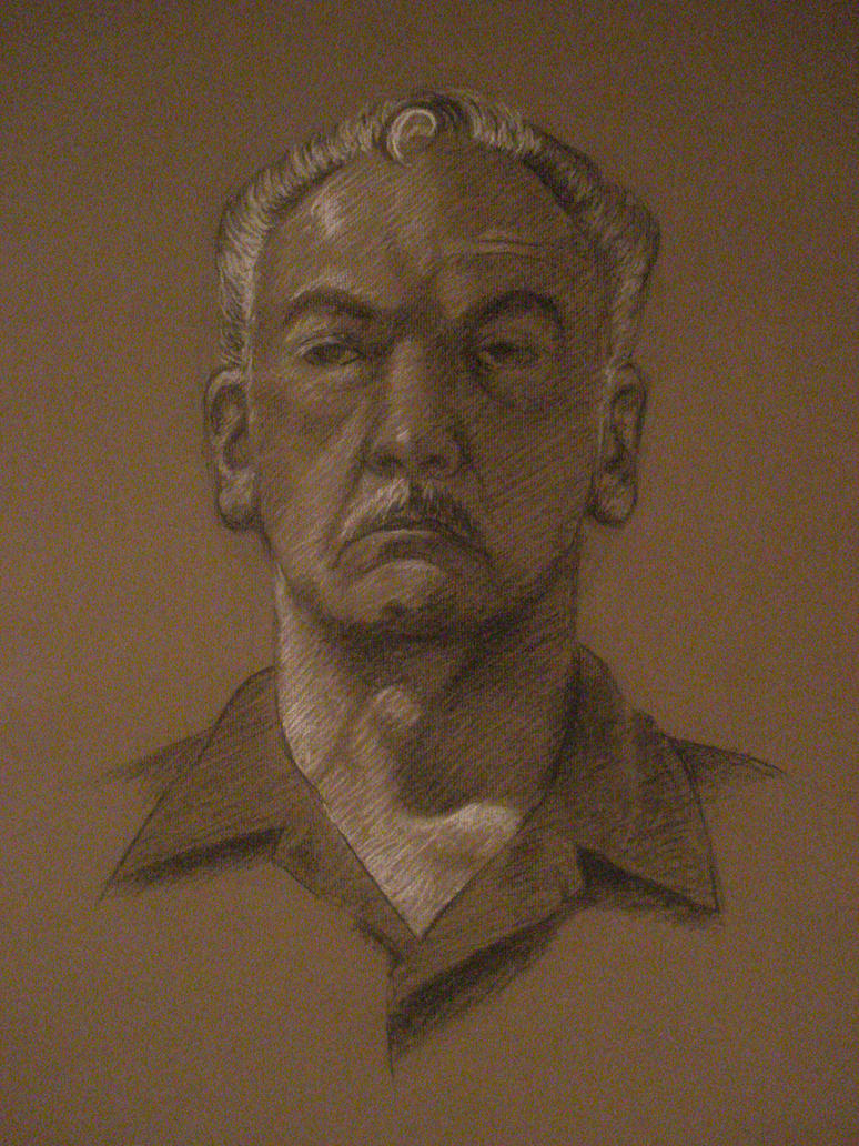 Portrait study by bluejinglebells89