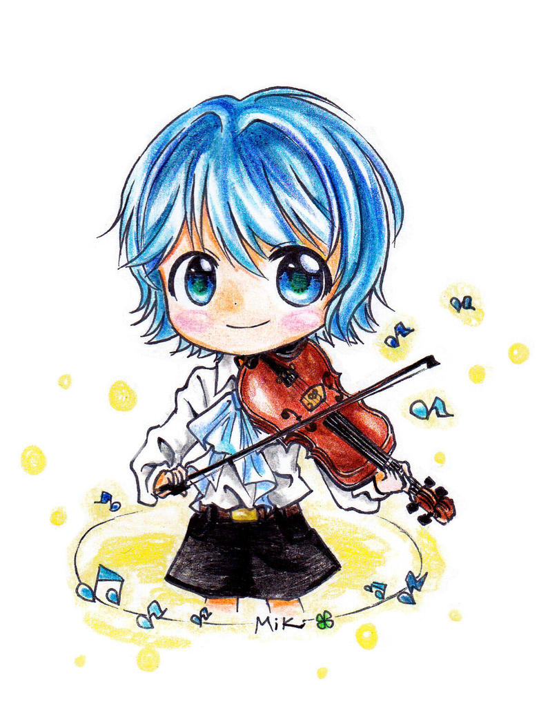Little Violinist by MikiClover