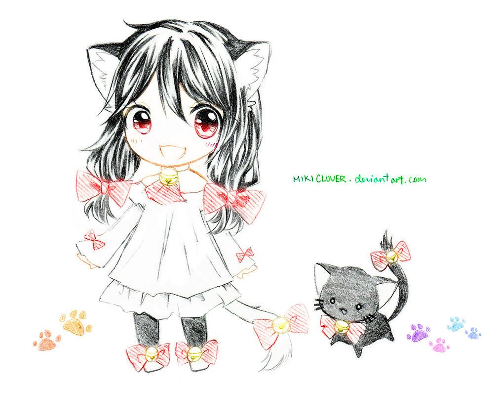 Chibi C: Taremimi by MikiClover