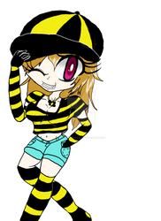 CUTE GIRL BEE