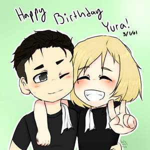 Happy Birthday Yura!!!!!!