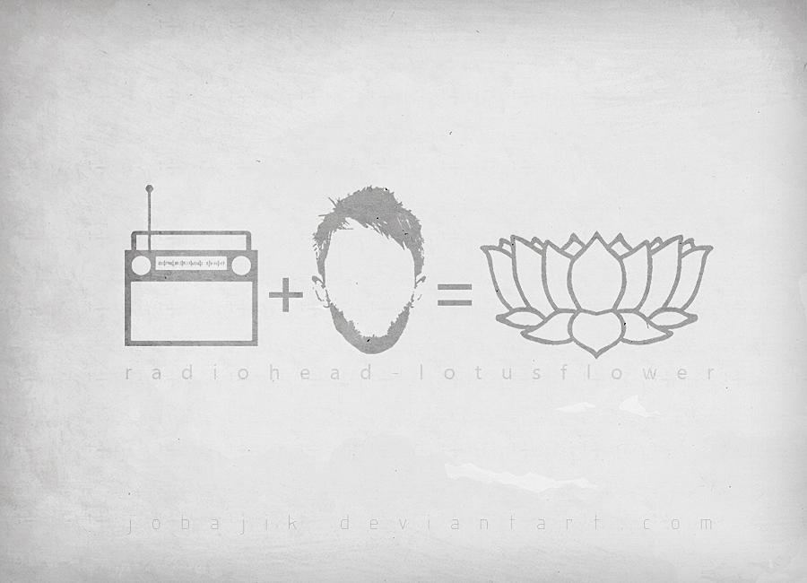 Radiohead Lotusflower By Jobajik On Deviantart