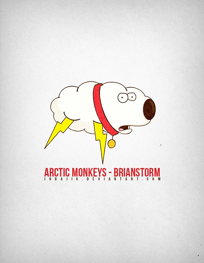 Arctic Monkeys - Brianstorm by jobajik