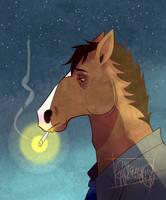 Bojack... Horseman. by StrangeNocturne