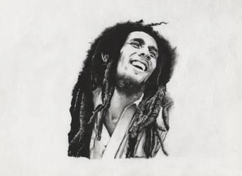 Bob Marley by OhKeity