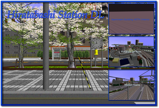 MMD Hiratabashi Station Stage DL by AkitaFanZ