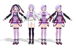 MMD Yukari Yuzuki Model Pack Download
