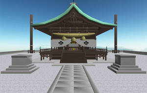 MMD Moriya Shrine Download by AkitaFanZ