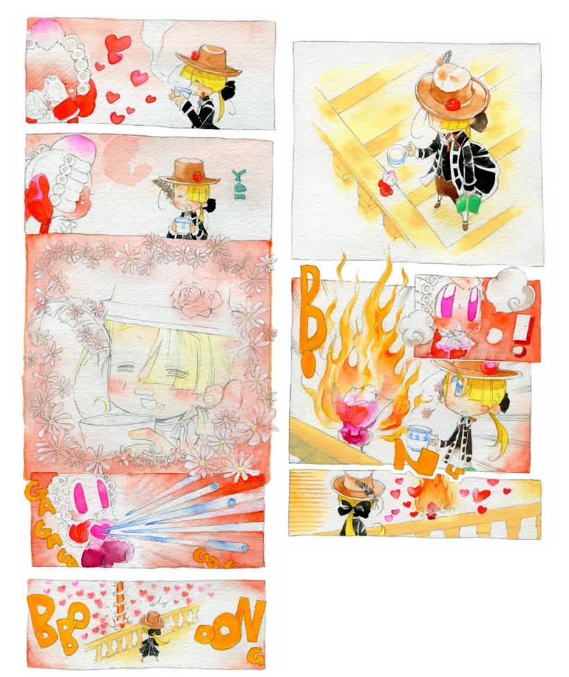 Une lilliputiene rouge.eight by daichikawacemi