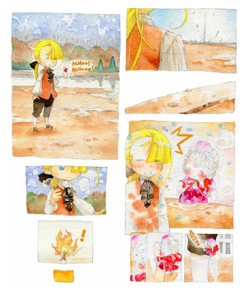Une lilliputiene rouge.twelve by daichikawacemi