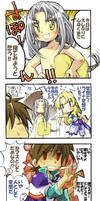 The Legend of the Black Fallen Hero YONKOMA one by daichikawacemi