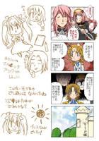 The Legend of the Black Fallen HeroYONKOMA five by daichikawacemi