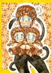 triple Goku-chan
