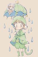 RAINY GOKU-CHAN by daichikawacemi