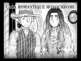 CACA ROMANTIQUE MONOCHROME siteTOP by daichikawacemi