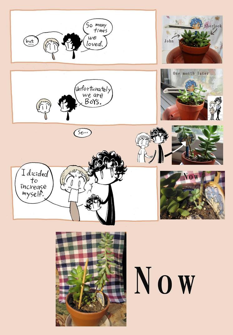 Sherlock and John in my house 2 by daichikawacemi